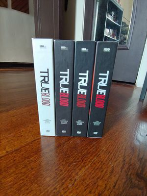 True Blood Seasons 1-4 Box Sets for Sale in Chicago, IL
