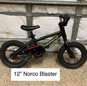 12 inch Norco Blaster kids bike. Retails for over $200 for Sale in Davie, FL