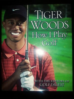 Tiger Woods Golf Book for Sale in Modesto, CA