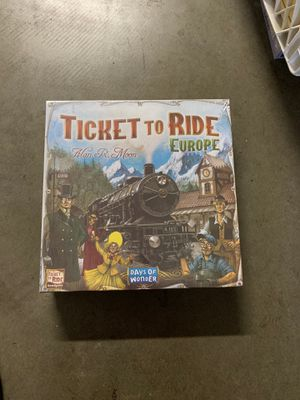 Ticket To Ride - Europe board games new for Sale in City of Industry, CA