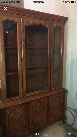 China hutch cabinet buffet shelf shelves for Sale in Richmond, VA