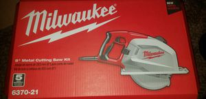 "Milwaukee ""8 Metal cutting Saw Kit Brand New Never opened for Sale in Dallas, TX"