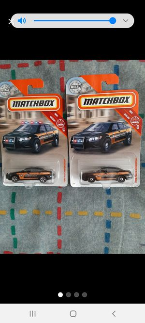 Matchbox Ford Interceptor w/Variant ●□● for Sale in Williamsport, PA