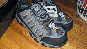 Sketchers waterproof/steel toe work boots that look like normal shoes. - men's 10.5 for Sale in Portland, OR