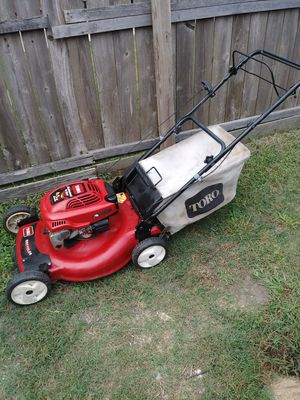 Toro lawn mower self propelled for Sale in Garland, TX