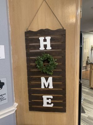 Wooden hanging home decor for Sale in Arlington, TX