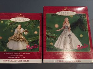 Barbie Holiday Ornaments for Sale in Manassas, VA