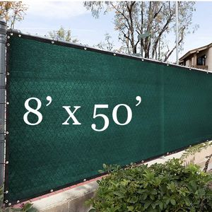 NEW 8'x50' Privacy Fence Wind Screen - DARK GREEN for Sale in Ontario, CA