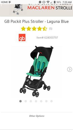 Pockit Stroller 2018 version Laguna blue for Sale in San Diego, CA