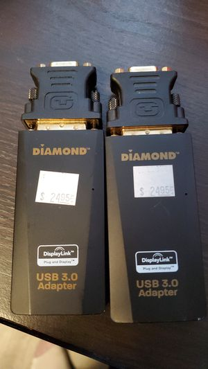 Dual monitors cable adapters for Sale in Seattle, WA