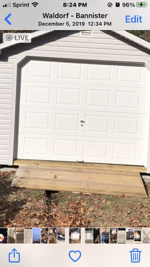 8 feet wood shed ramp for Sale in Waldorf, MD