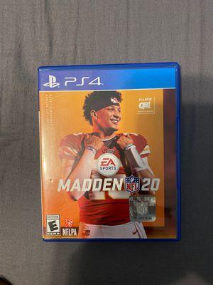 Madden 20 for Sale in Tyler, TX