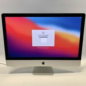 "iMac 27"" 5k Retina 32gb Ram Memory , 3.3ghz i5 Processor 500gb Flash Storage 2020 Model , Warranty 9/2021 for Sale in Brooklyn, NY"