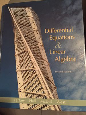 Differential equations and linear algebra 2 edition for Sale in Salt Lake City, UT