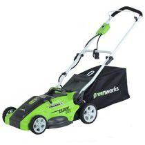 Greenworks 16-Inch 10 Amp Corded Lawn Mower 25142 for Sale in Garland, TX