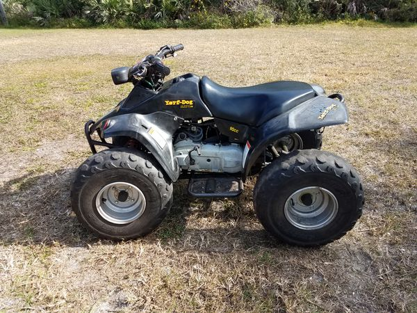 2004 yerf dog automatic 2 stroke 90cc atv that runs and drives good for  Sale in Cocoa, FL - OfferUp