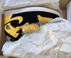 Air Jordan 1 Mid Yellow Toe for Sale in Houston, TX