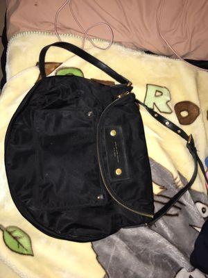 Marc jacobs black Messenger bag satchel purse black cross body nylon purse for Sale in Phoenix, AZ