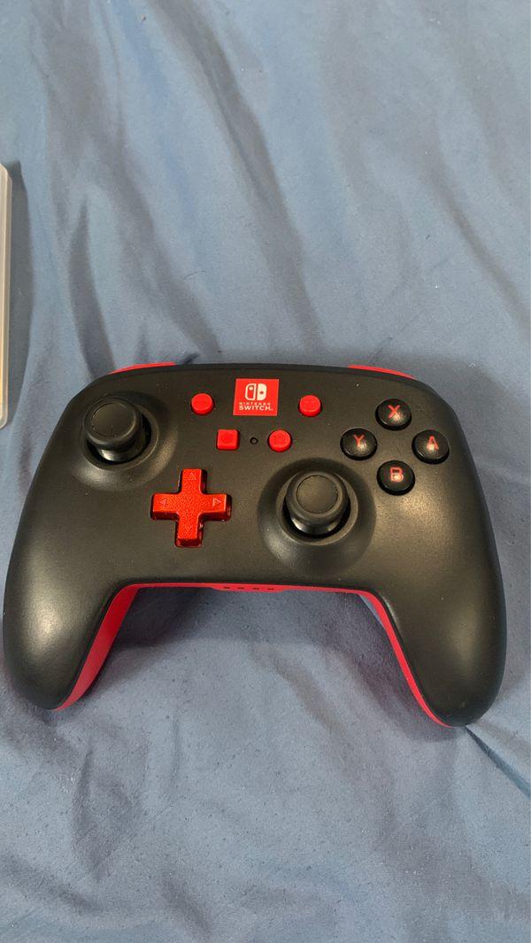 Nintendo switch enhanced wireless controller