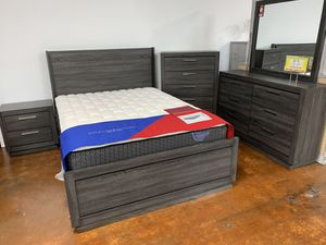 Bedroom set on sale now, mattress included, could sell separately. King and queen only for Sale in Chicago, IL