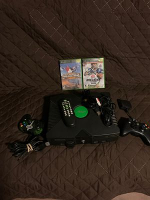 Original Xbox Black Console System for Sale in Phoenix, AZ