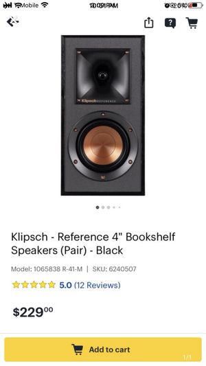 Klipsch speakers for Sale in San Francisco, CA