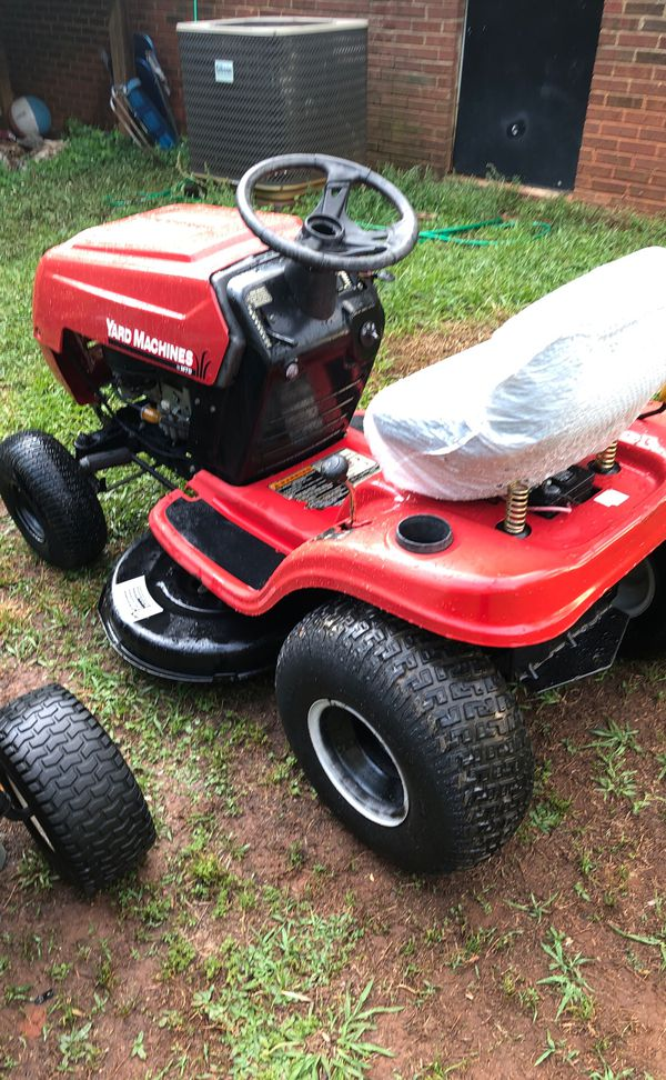 Yard Machine Riding Lawn Mower For Sale In Inman Sc Offerup
