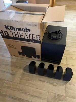 Klipsch HD Theater sound system for Sale in Escalon, CA