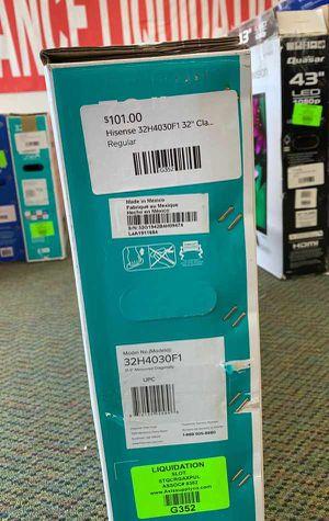 """Brand New Hisense ROKU 32"""" TV! Open box w/ warranty JFZ for Sale in Forney, TX"""