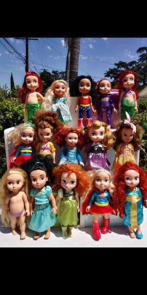 Disney princess dolls for Sale in El Monte, CA