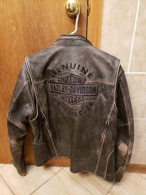 Harley Davidson leather jacket for Sale in Bailey, CO