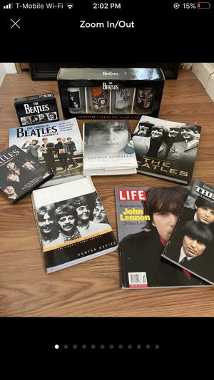 Large Beatles Collection for Sale in Portland, OR
