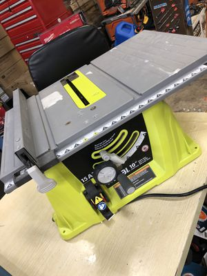 Ryobi table saw 15 amp for Sale in Arlington, TX