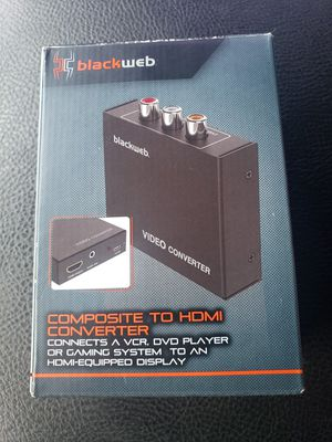 Composite to Hdmi converter for Sale in Houston, TX