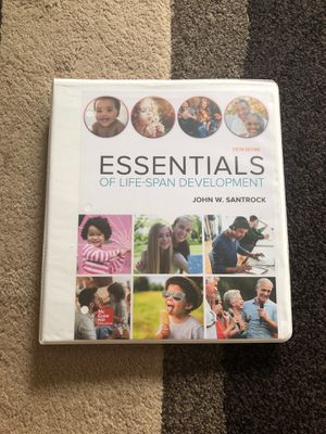 Essentials of Life-Span Development 5th Edition Book for Sale in Salem, OR