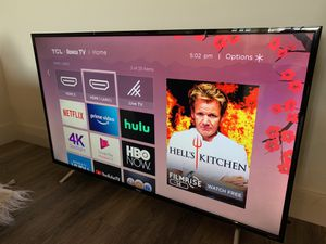 """50"""" ROKU - TCL smart TV for Sale in Los Angeles, CA"""