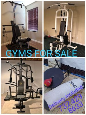 Multi function home gyms delivery included for Sale in Franklin Township, NJ