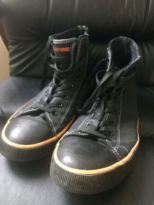 "harley davidson shoes 13"" used for Sale in Washington, DC"