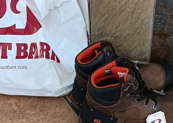 Steel Toe Work Boots- New for Sale in North Las Vegas,  NV