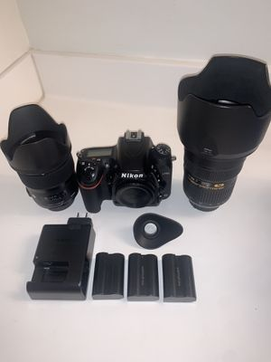 Nikon D750 w/ Lenses for Sale in Claremont, CA
