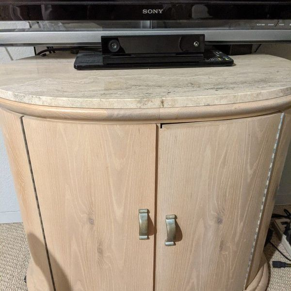 Solid Wood TV Cabinet Or Bedroom Night Stand