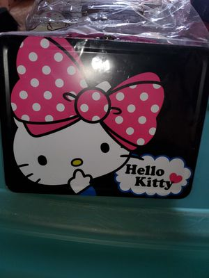 Hello kitty lunch boxes for Sale in San Antonio, TX