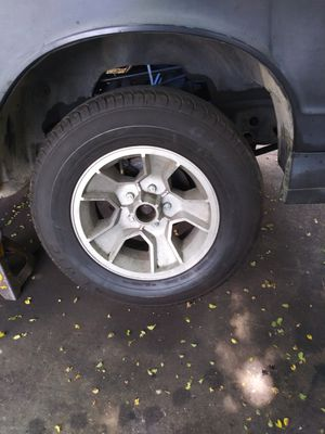86 monte ss rims and tires all four tires are brand new never been road on for Sale in Detroit, MI