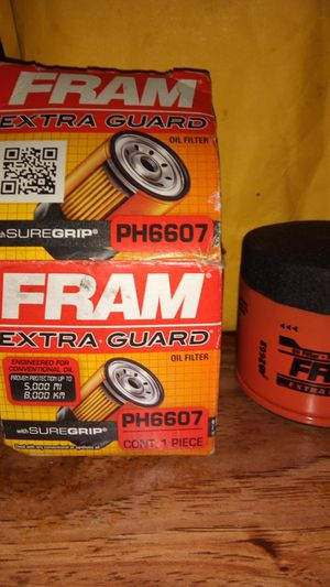 Fram Extra Guard Oil Filter PH6607 for Sale in North Chesterfield, VA