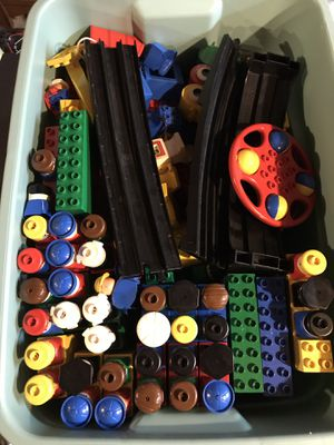 LEGO duplo 50 plus people train set and more for Sale in Homer Glen, IL