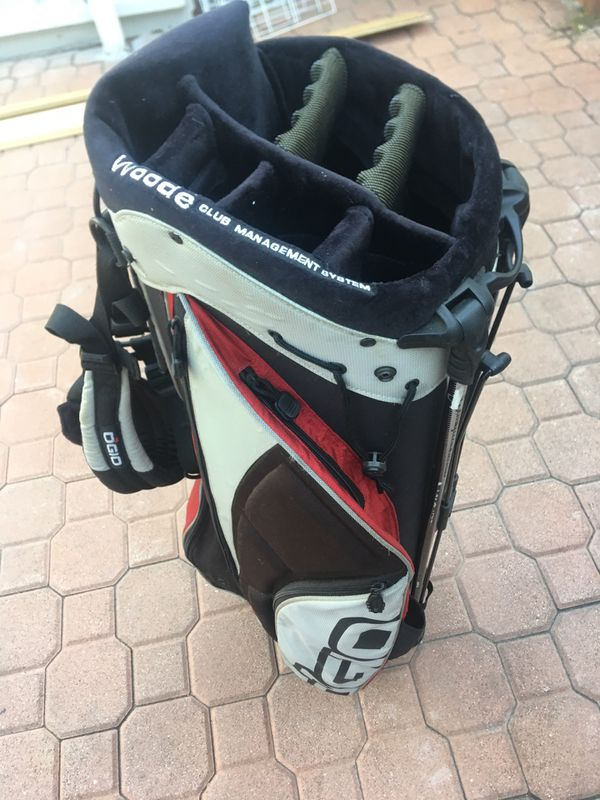 WOODE CLUB MANAGEMENT SYSTEM GOLF BAG