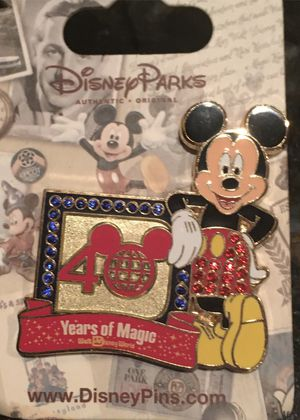 Walt Disney Mickey Mouse - 40 Years of Magic Pin for Sale in Schaumburg, IL