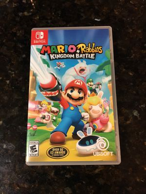 Mario + Rabbids Kingdom Battle Nintendo Switch for Sale in Baldwin Park, CA