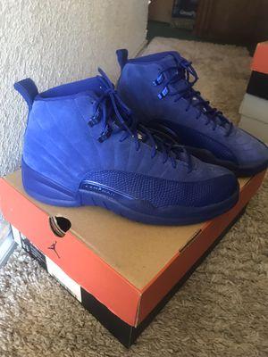 Jordan Retro 12's Deep Royal Blue Size 8.5 for Sale in Dallas, TX