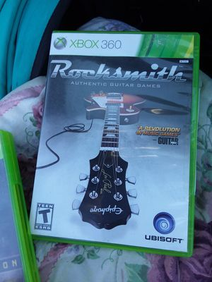 MAKE ME A REASONABLE OFFER // ROCKSMITH XBOX 360 GAME for Sale in Delaware, OH